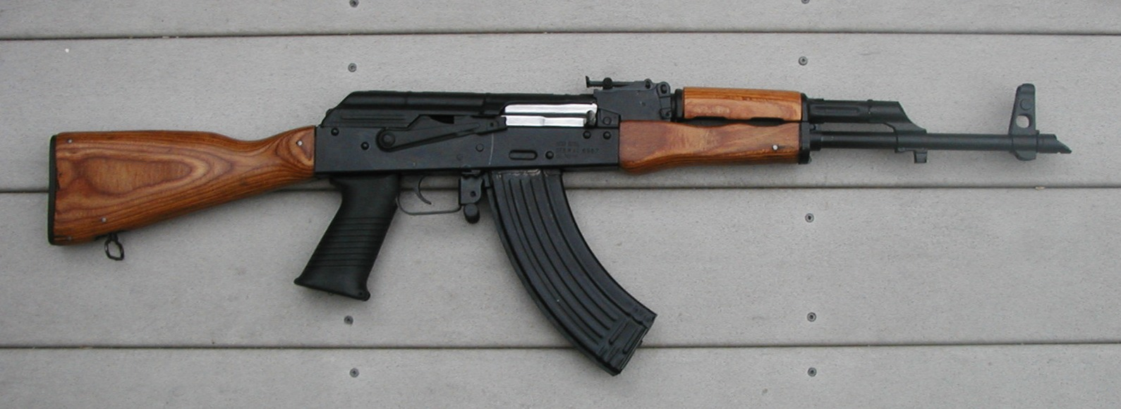 Saiga wood furniture kit ever x wood Ak 47 wooden furniture